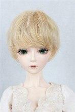 SD / BJD doll wig gold closed face reel short hair limited edition silk 1/3 1/4 1/6 hot spot