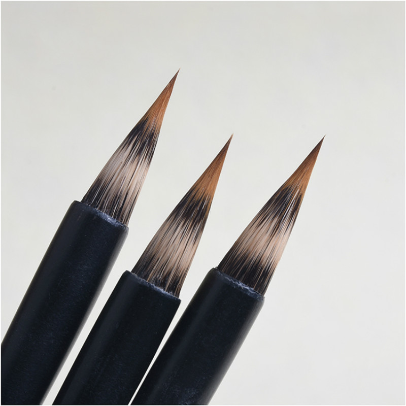 Exquisite Rabbit Hair Writing Brush Small Regular Script Writing Brushes Professional Meticulous Painting Calligraphy Brush