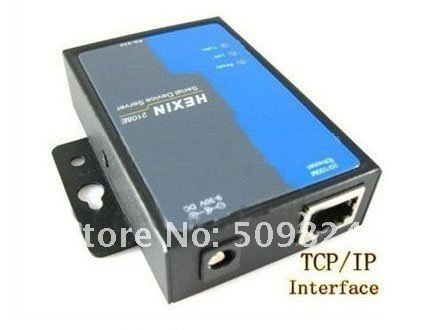 ФОТО Free Shipping,RS232 /485 to TCP/IP Ethernet Serial Server Converter Device ,min:1 pcs