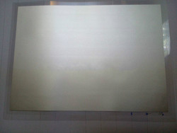 Silber-überzogene PVDF piezoelektrischen dünne filme mit dicke von 28 um und größe von 203*280mm/ gespannt polarisierte piezoelektrischen