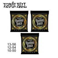 Original Ernie Ball Aluminum Bronze Acoustic Guitar Strings 1 Set Of String 2564 2566 2570