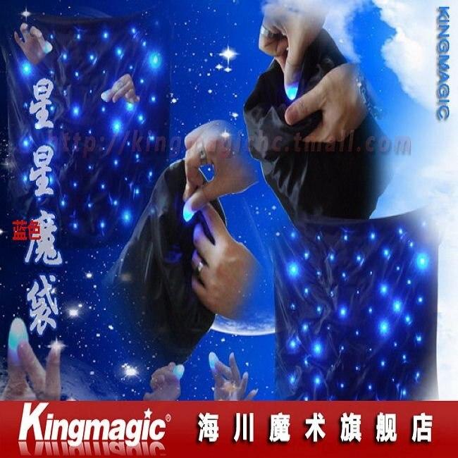 Blendo sac avec lumières bleues tours de magie accessoires de magie jouets magiques livraison gratuite