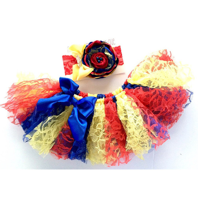 Christmas Masquerade Halloween Performance Tutu Skirt Girls Baby Kid Skirts Birthday Party Tutu With Headband Pettiskirts 2-11Y