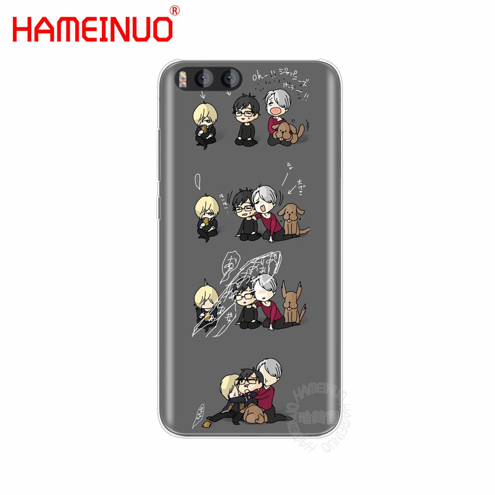 HAMEINUO yuri on ice history maker Cover Case for Xiaomi Mi 3 4 5 5S 5C 5X 6 Mi3 Mi4 4S 4I 4C Mi5 MI6 NOTE MAX mix plus
