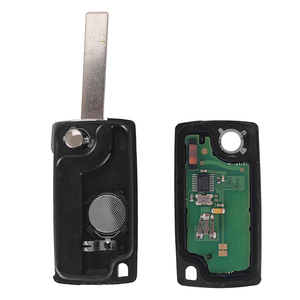 Image 4 - DANDKEY 10p ASK 2 Buttons Remote Flip Car Key For Peugeot 207 307 308 407 For Citroen 433MHz PCF7961 HU83 Blade ID46 CE0536