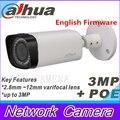 2015 Dahua IPC-HFW4300R-Z 2.8mm ~12mm varifocal motorized lens network camera 3MP IR ip camera POE cctv camera