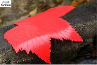 High quality Colorful maple leaves mat Magic car stop slippery cushion car decoration products for all cars