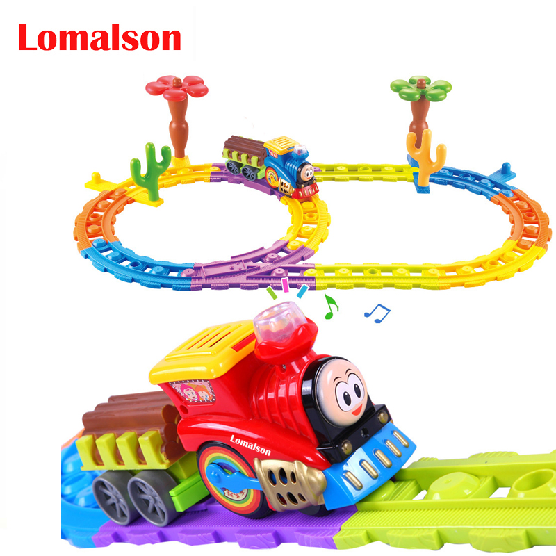 Offre spéciale Train sonore Train électrique jouet avec piste les jouets pour enfants classiques tout le réseau prix le plus bas