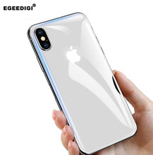 Egeedigi For iPhone Xs Max Glass Ultra Thin Back Film XR 2018 Protective Tempered Scratch Proof
