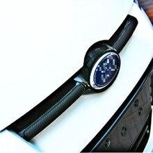 Aliauto 2 x أحدث نمط ألياف الكربون ملصق فينيل سيارة رئيس ملصق خاص مصمم لفورد فوكس 2012