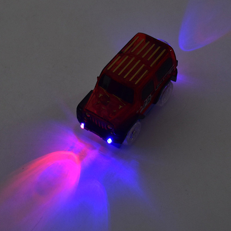 Hot-Sale-Electronics-Car-With-Flashing-Lights-for-Magic-Racing-Glows-Track-Set-Educational-Toys-For-Children-Boys-Birthday-Gift-5