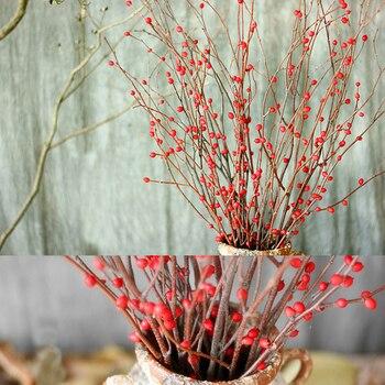 2 Unidades Astragalus Sinicus Rama Natural Flores Secas Planta - Plantas-secas-decoracion