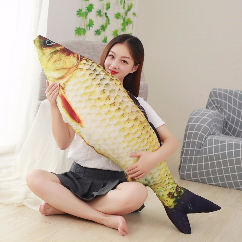 Funny Fish Shape Cushion Throw Pillow ChildrenToy Gift 40-80cm Sofa Home Decor