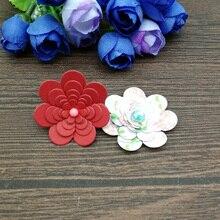 5Pcs Flower Metal Cutting Dies