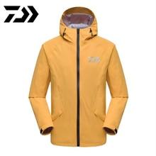 Новинка, осенняя и зимняя куртка DAIWA dawa, рыболовство, одежда для рыбалки, уличная одежда, теплая Толстая ветрозащитная водонепроницаемая куртка