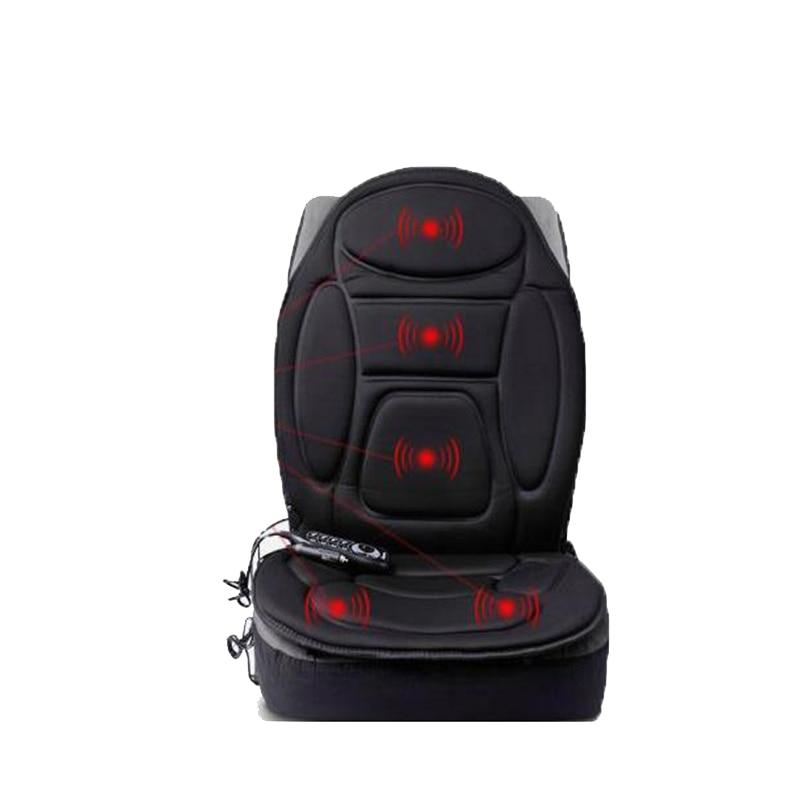 Car seat cushion electric heating massage cushion On-board winter essential health massage chair cushion body massage products st0401 car seat cushion heating switch black