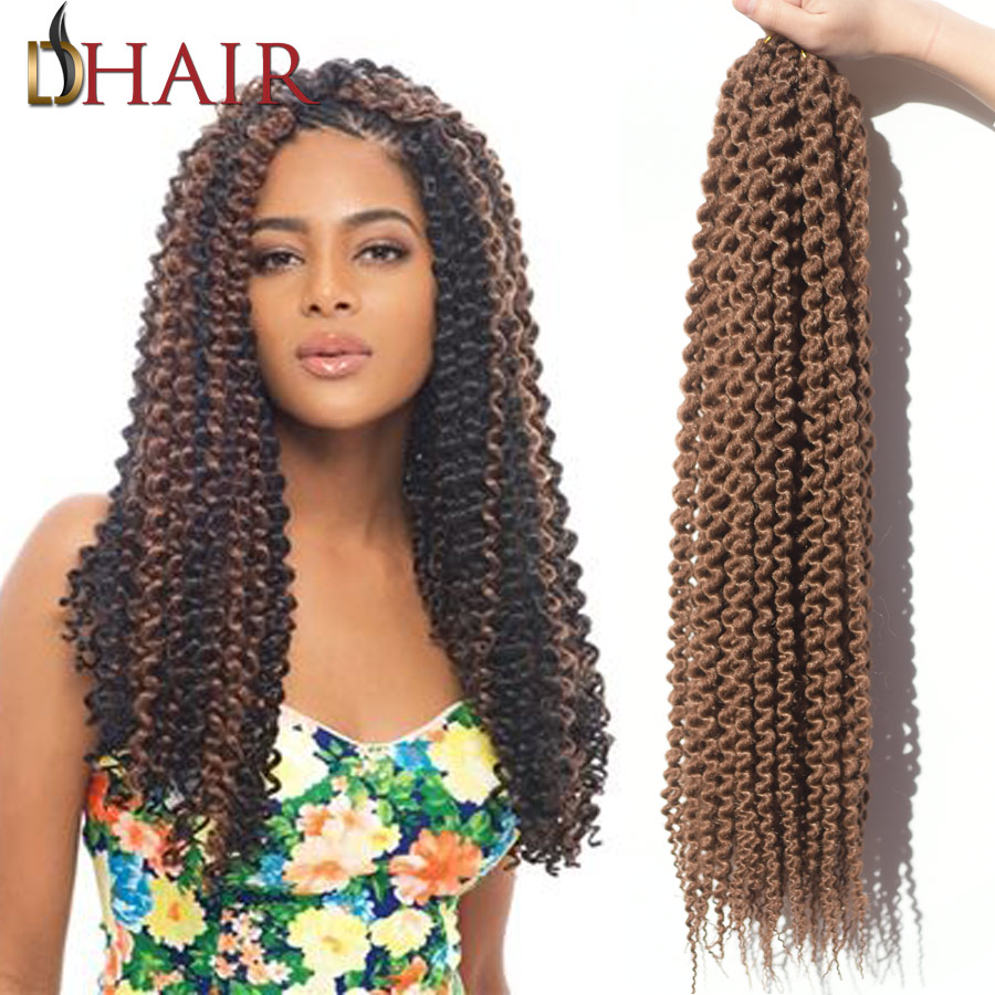 Top Crochet Curly Hair Expression Hair Weave 22 85G Crochet Braids ...