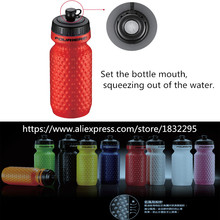 Cycling Water Bottle 600cc for Outdoor Bike Bicycle Cycling Sports Drink Jug Water Bottle Cup Portable Environmental 9 colors