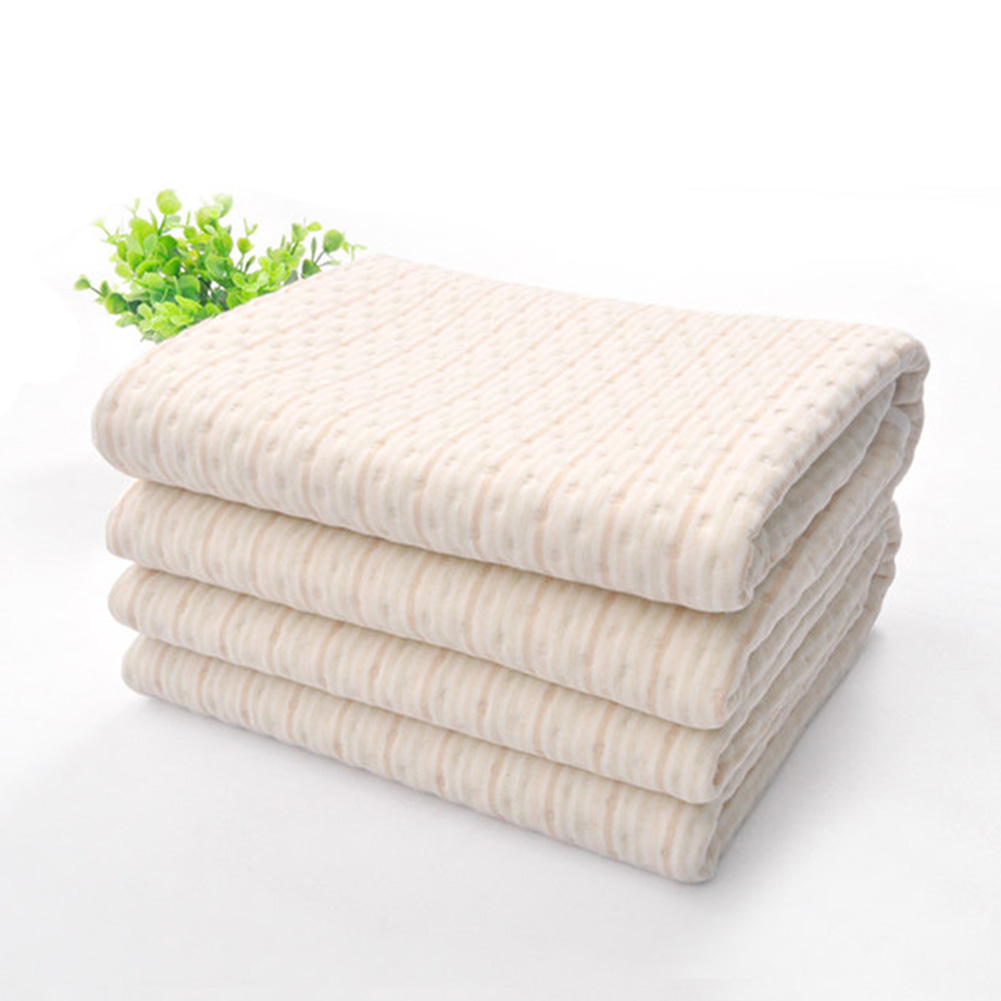 Portable baby mattress Sheet Incontinence Pad Mattress Protector Cotton Waterproof Bed Toddler Travel Mat