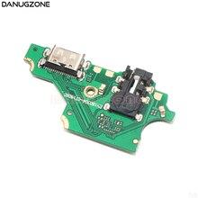 30 pçs/lote para huawei p20 lite/nova 3e ANE L01/lx3/l23 usb carga jack placa doca soquete conector porto de carregamento cabo flexível