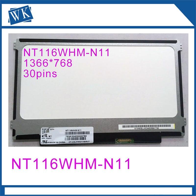 "11,6 ""lcd Monitore 1366x768 Edp Laptop Lcd Panel Nt116whm-n11 Für Lenovo Kunden Zuerst"