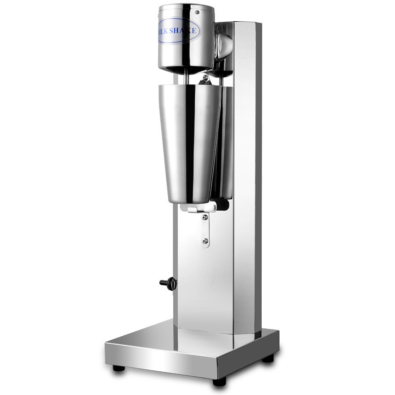 single head Snow storm milkshake machine shake machine commercial milk tea mixer foam 220v commercial single double head milkshake machine electric espresso coffee milk foam frother machine bubble maker