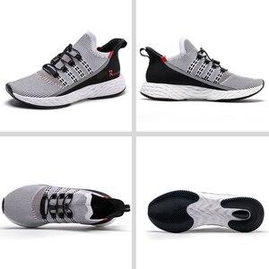 Image 2 - Onemix 2020 加硫テニスシューズ男性スニーカー夏トレーナー軽量反射屋外スポーツカジュアルトレッキング靴