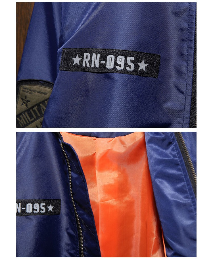 Aolamegs Men Bomber Jacket US Force MA1 Flying Jackets Military Style Baseball Uniform Army Green Black Navy Plus Size 4XL 5XL (3)
