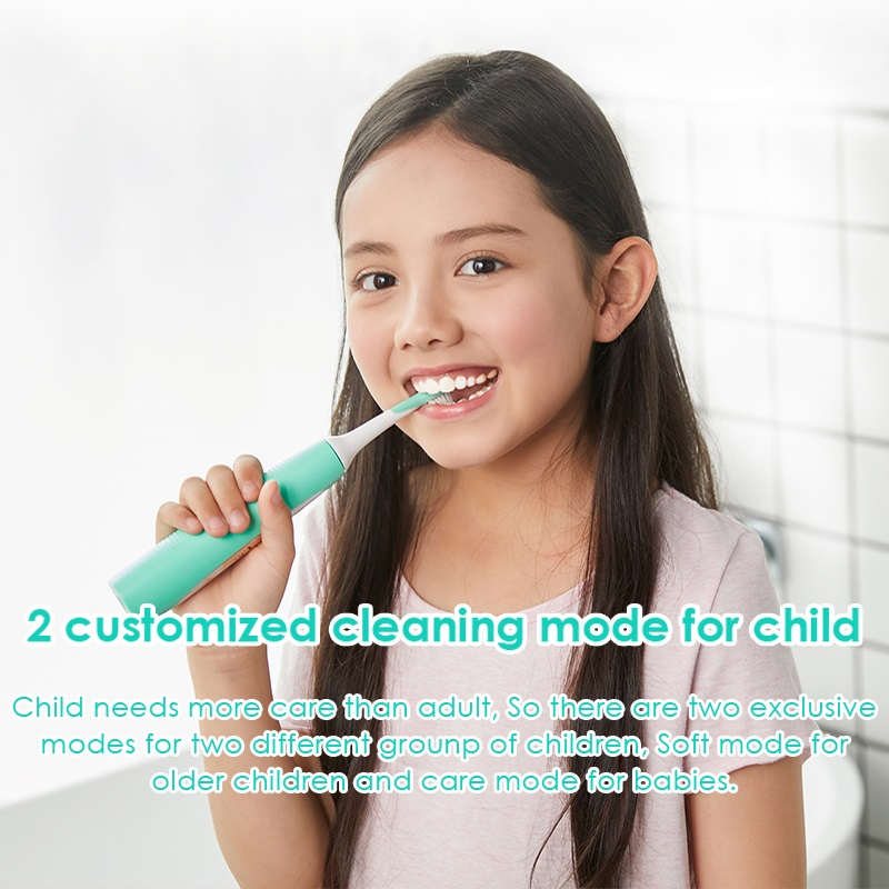 Image 2 - SOOCAS C1 Children Electric Toothbrush for Xiaomi Mijia Sonic Brush Teeth Child Kid Automatic Toothbrush Wireless Charging IPX7-in Electric Toothbrushes from Home Appliances