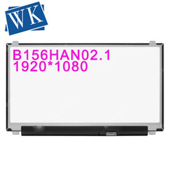 B156HAN02.1 fit N156HCA-EAA NV156FHM-N47 LP156WF9 SPF1 LCD Screen 15.6 EDP FHD LED Display IPS 1920x1080