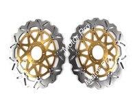 XJR1200 переднего тормозного диска для Yamaha XJR 1200 1995 1998 1996 1997 мотоцикла тормозной диск ротора с ЧПУ Алюминий FZR 1000 EXUP GENESIS