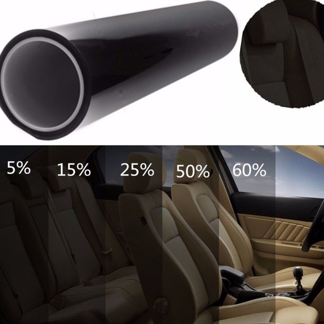 Autoleader 5/15/20/35% Visible 50cm X 3m Auto Light Headlight Window Film