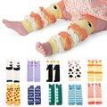Children Baby Boy Girls Infant Leggings Kids Leg Warmers Knee Pad QL