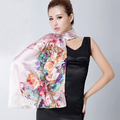 100% Mulberry Silk Long Silk Scarf Shawl,Hot Sale Brand Female Autumn And Winter Long Dsign Silk Scarf  Cape For Ladies
