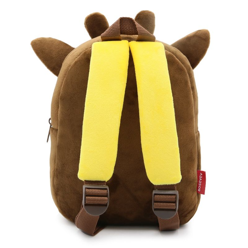 022fc22c503a 3D Cartoon Plush Children Backpacks kindergarten Schoolbag Animal Kids  Backpack Children School Bags Girls Boys Backpacks