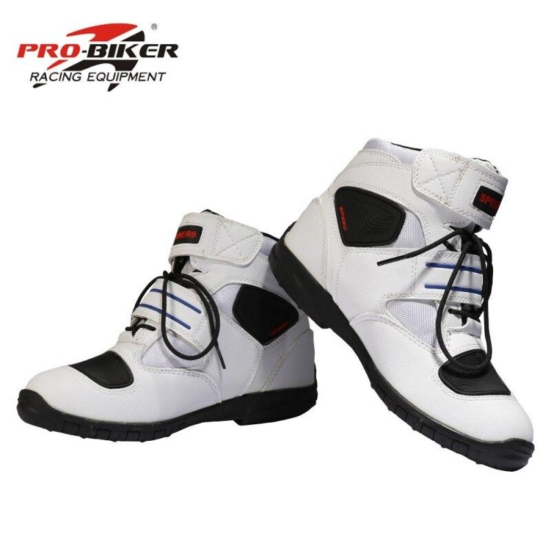 free shipping Professional motorcycle boots men motorbiker boots botas motorcycles moto shoes racing Pro-Biker