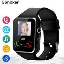 Relógio inteligente, X6 Bluetooth SmartWatch 16 GB Apoio Às Micro SIM Card Câmera de Vídeo para Android Samsung HTC Sony Huawei Smartphone LG