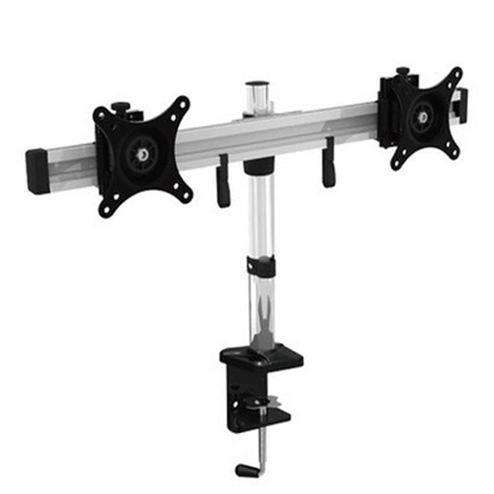 HONGHUA 15- 24 Full Motion Rotating Dual Screen LED LCD Monitor Holder Clamping Desktop Mounting Arm Bracket ttlcd 15 6 lcd led screen for gateway ms2273 ms2274 ms2285
