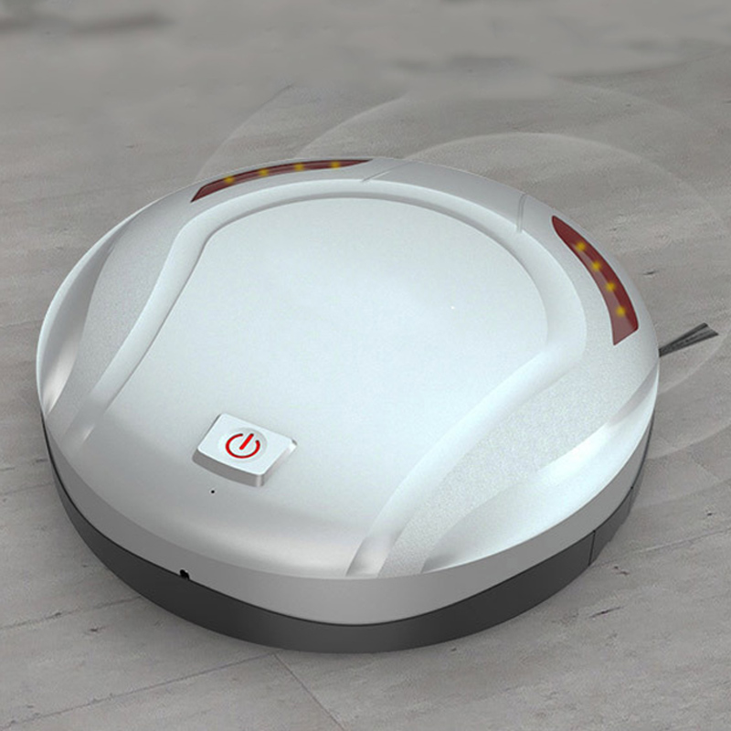 Smart Vacuum Cleaner Robot Ultra-slient Automatic Wipping Floor Cleaner for Carpet HFing(China)