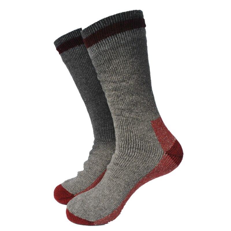 2 Pairs Russland Typle Volle Wolle Terry Dicker Thermo Socken Snowboard Socken Herren Socken Große Größe HeißEr Verkauf 50-70% Rabatt