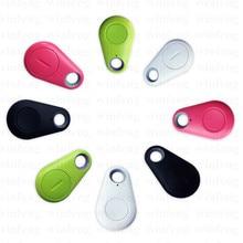 2pcs/lot Smart Bluetooth key finder GPS Locator Tag Alarm Wallet Keychain Itag Pet Dog Tracker Child Car Phone Anti Lost Remind