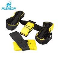 ALBREDA Hanging Belt Resistance Belt Set Home Training Fitness Equipment Spring Exerciser Upgraded Version body building workout