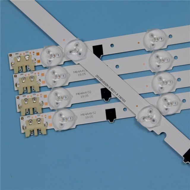 9 Lamps LED Backlight Strip For Samsung UE32F4000AW UE32F5000AK UE32F5000AW UE32F6400AK UE32F6400AW Bars Kit Television LED Band