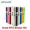 Vaporizador E cigarro ego-t ego cigarro eletrônico Evod Kit Blister MT3 ego bobina dupla cartomizer evod caneta vape evod mt3 (MM)