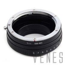 Pixco поворотный Объектив Адаптер Костюм Для Canon EOS Объектив Sony NEX Камеры NEX-5Т NEX-3N NEX-6 NEX-5R NEX-F3 NEX-7 NEX-5N