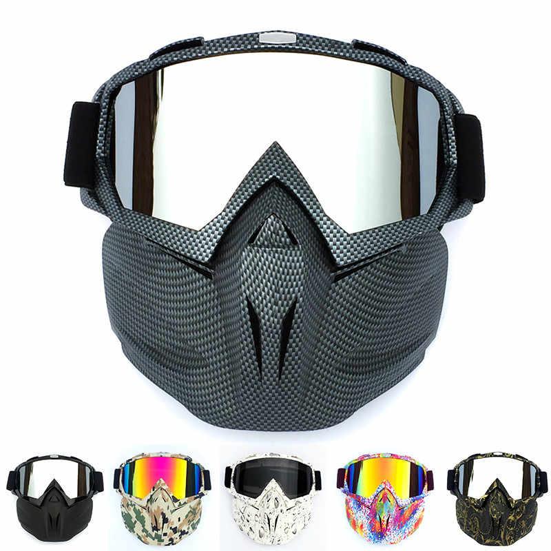Retro sürme maskesi gözlük motokros yarış gözlükleri sürme gözlük kayak gözlüğü Rockbros spor gözlük