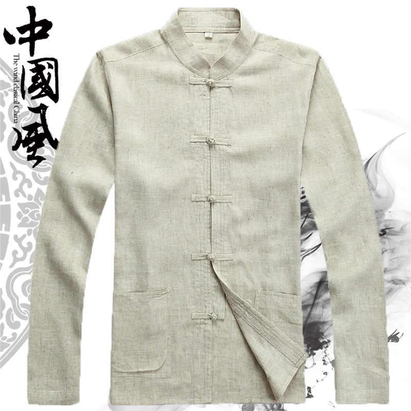 繁体字中国語服男性のためのカンフー服チャイナ上海唐装カンフー店メンズヴィンテージ男オリエンタルシャツ