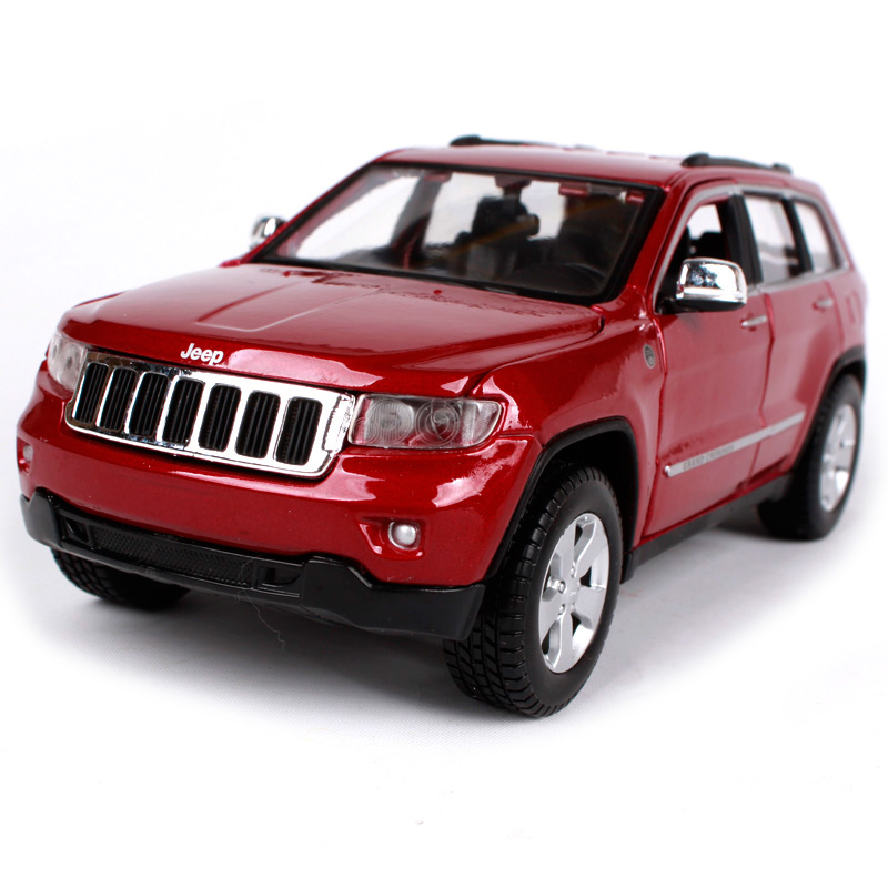 Maisto 1:24 Jeep Grand Cherokee SUV Diecast Model Car Toy New In Box Free Shipping 31205 new power steering pump for car jeep grand cherokee suv 2 7 crd 4x4 diesel