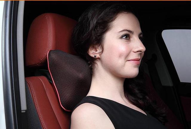 2018 Cervical car massage device massage pillow waist massage device neck vehienlar household electric portable pillow
