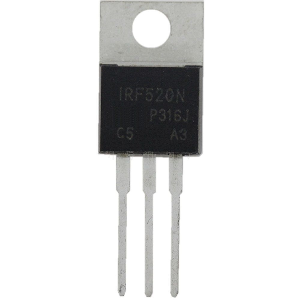 10PCS IRF520 IRF520N TO-220 N-Channel  Power MOSFET New